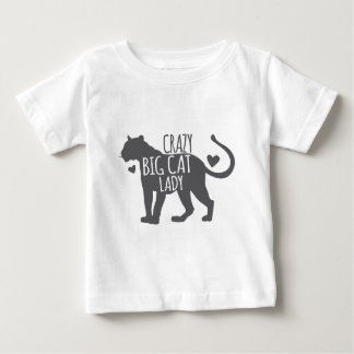Crazy Big cat Lady Baby T-Shirt