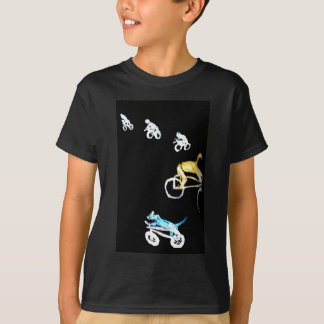 Crazy Bikers and a dog in the Dark! T-Shirt