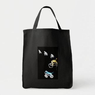 Crazy Bikers in the Dark! Canvas Bag