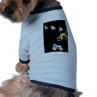 Crazy Bikers in the Dark! Pet Clothing