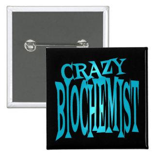 Crazy Biochemist in Teal Pins