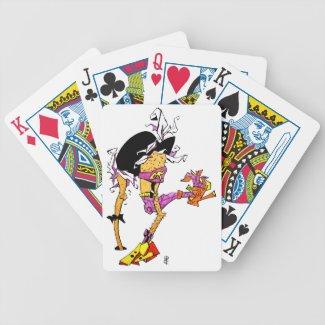 Funny Poker Cards - Woody Woodpecker