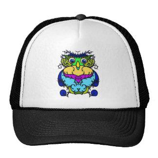 Crazy Bird Owl Mesh Hat