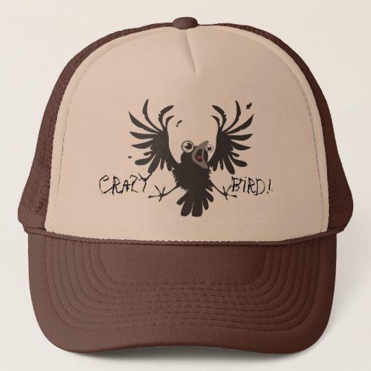 Crazy  Bird! Raven Hat