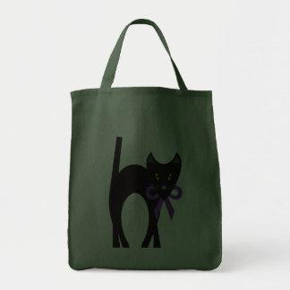 Crazy Black Cat Bags