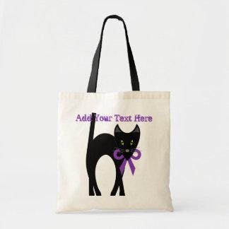Crazy Black Cat Bag