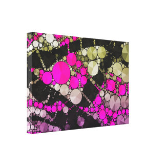 Crazy Bling Abstract Canvas Print