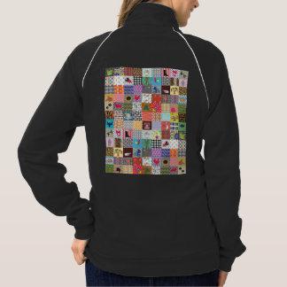 Crazy Block Quilt Quilting Mama Funny Jacket