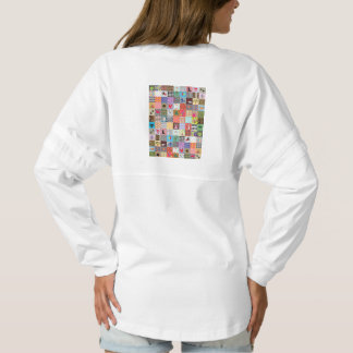 Crazy Block Quilt Quilting Mama Funny Jersey