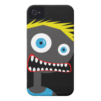 Crazy blond man iPhone 4 case