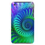 Crazy Blue Fractal Art Pattern iPod Touch Case-Mate Case