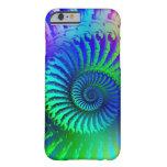 Crazy Blue Fractal Pattern iPhone 6 Case