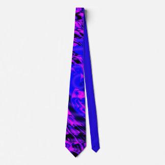Crazy Blue Motion Neck Tie