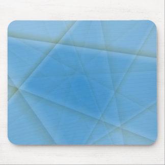 Crazy Blue Pattern Mouse Pad