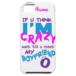 Crazy Boyfriend custom iPhone 5 Case-Mate iPhone SE/5/5s Case