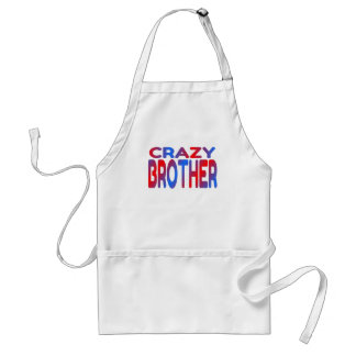 Crazy Brother Adult Apron