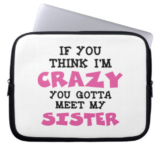 Crazy Brother Computer Sleeve