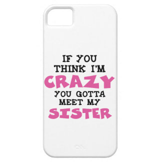 Crazy Brother iPhone SE/5/5s Case
