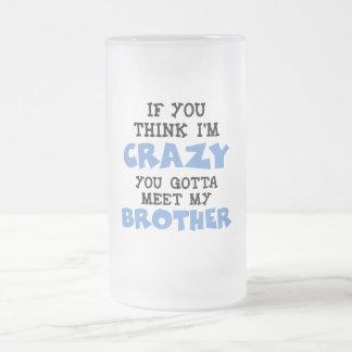 Crazy Brother Coffee Mugs