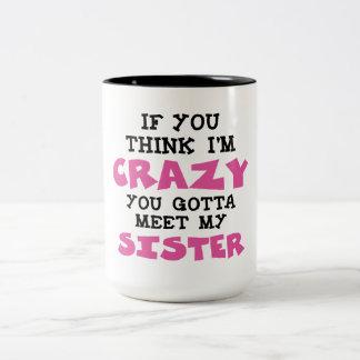 Crazy Brother Coffee Mug