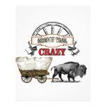 crazy buffalo wagon letterhead