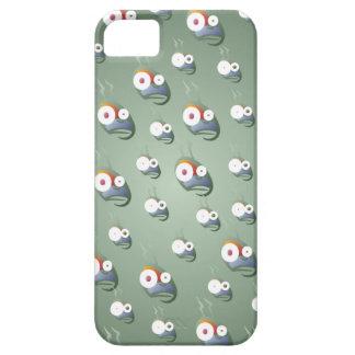 Crazy Bug-Eyed Alien iPhone5 Case
