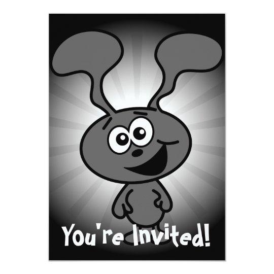 Crazy Bunny Card