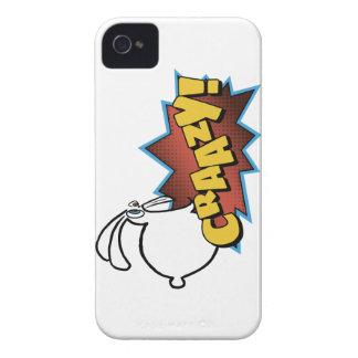 Crazy Bunny Case-Mate iPhone 4 Cases