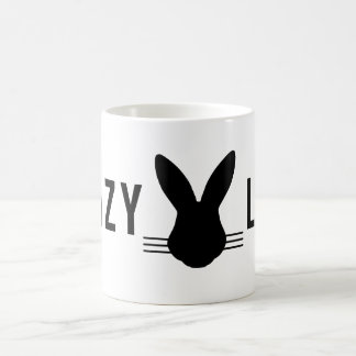 CRAZY BUNNY LADY COFFEE MUG