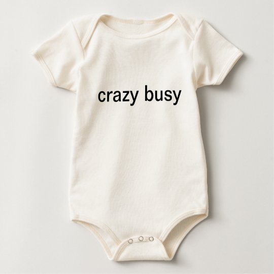 crazy busy baby bodysuit