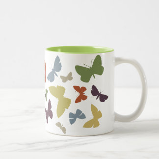 Crazy Butterflies mug