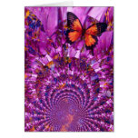 Crazy Butterfly Greeting Card