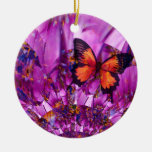Crazy Butterfly Wings Christmas Tree Ornament
