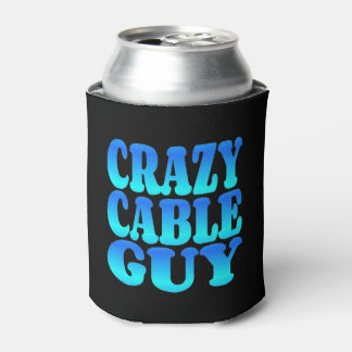 Crazy Cable Guy Can Cooler
