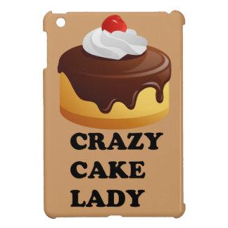 Crazy Cake Lady iPad Mini Case