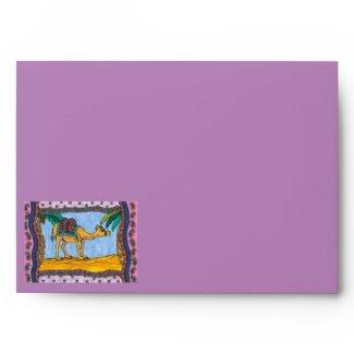 Crazy Camel Envelope envelope