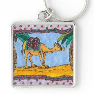 Crazy Camel Keychain keychain