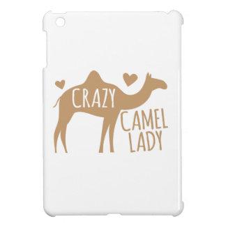 Crazy Camel Lady iPad Mini Case
