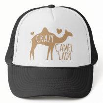 Crazy Camel Lady Trucker Hat