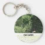 Crazy camper! key chain