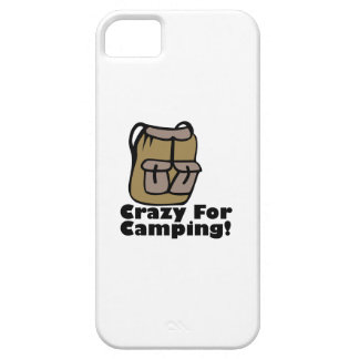 Crazy Camping iPhone 5 Cover
