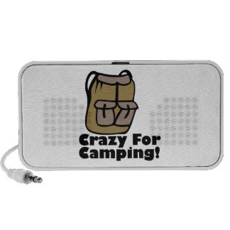 Crazy Camping iPod Speakers