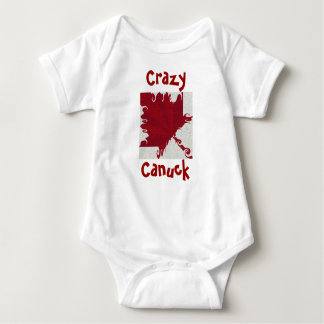 CRAZY CANUCK Infant Baby Bodysuit