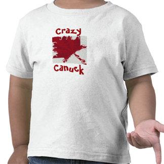 CRAZY CANUCK Toddler T Shirt
