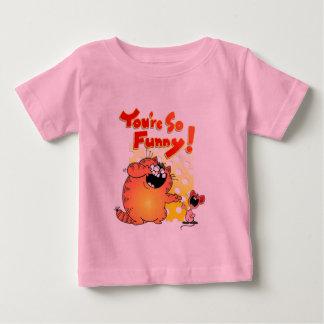 Crazy Cartoon Cat and Mouse   Silly Cartoon Cat T Shirt