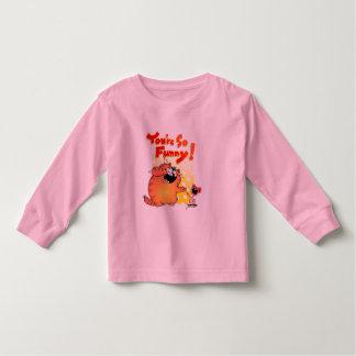 Crazy Cartoon Cat and Mouse   Silly Cartoon Cat Toddler T-shirt