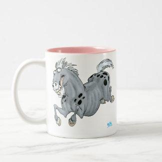 Crazy Cartoon Horse Mug