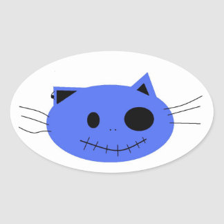 crazy cat; designs stickers