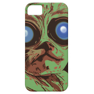 Crazy cat eyes iPhone 5 cover