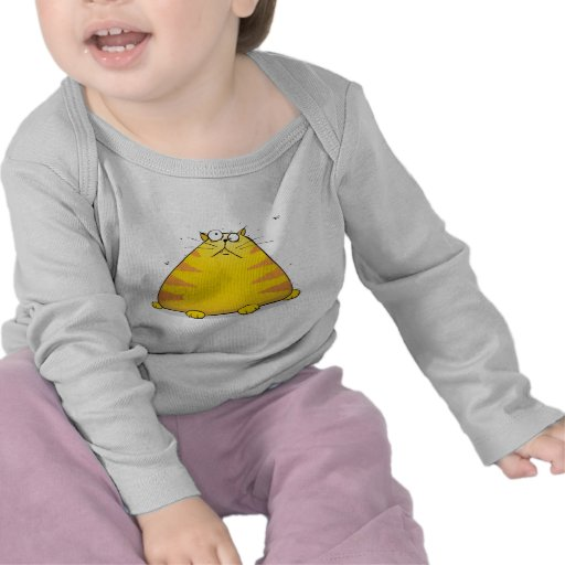 Crazy Cat Funny Long Sleeved Baby T-shirt
